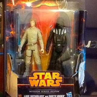 Star Wars Luke And Darth Vader . Mission Series