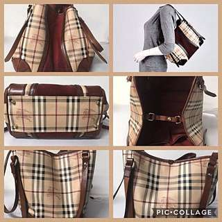 Authentic Burberry Cantebury Tote Bag