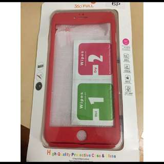 360 Ultra Thin Iphone 6+ Red Case