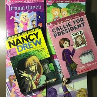 Nancy Drew + Candy Apple Books