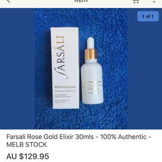 Farsali Rose Gold Elixir