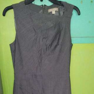 Banana Republic Gray Dress Size 8