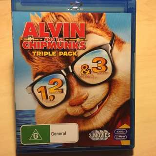 (Blu-Ray) Alvin & The Chipmunks Triple Pack