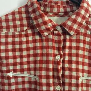 Maison Scotch Check Shirt