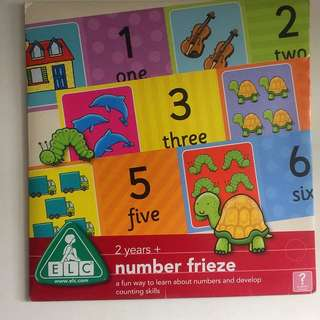 Number frieze Chart With Pictures
