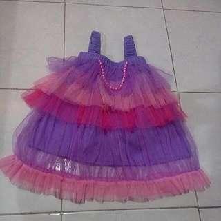 Dress Tutu Batita