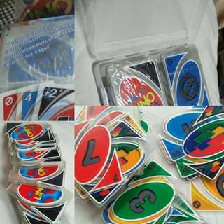 RE-PRICED! UNO WATER RESISTANT CARDS