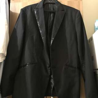 Black Formal Coat For Men