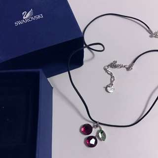 Swarovski Cherry Necklace