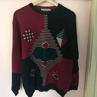 Vintage Style Sweater / Jumper