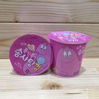 韓國泡泡先生棉花口香糖  夢幻草莓口味
