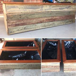 Recycled Timber Garden Boxes