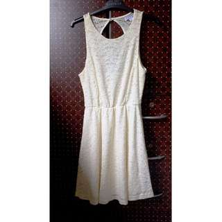 Cotton on Cream White Dress