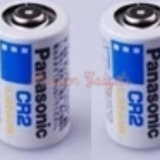 [1 Pair=2pcs] Panasonic CR2 Lithium Battery