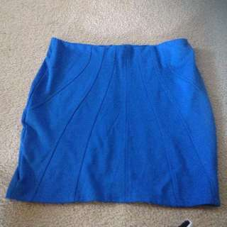 Blue Portmans Skirt Size 12