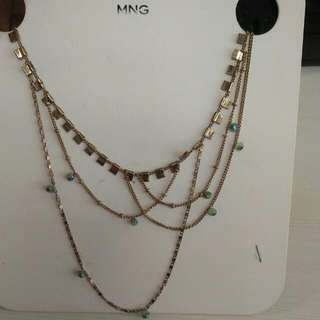 MNG Necklace Gold