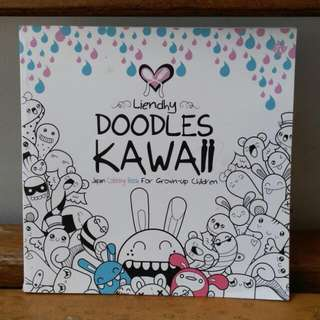 "Coloring Book ""Doodles Kawaii"""