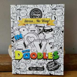 "Coloring Book ""In Love With Doodles"""