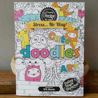 "Coloring Book ""Cute Doodle Art"""