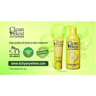 Itchy Anywhere Treatment Cream & Bath