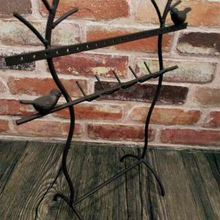 小鳥飾品架