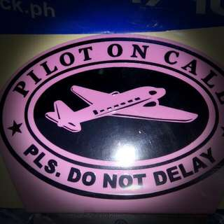 Pilot's Plate