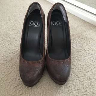 Italian Shoes Size 5