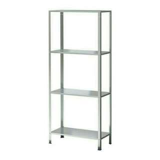 IKEA HYLLIS ,rak Alumunium ,140x60x27
