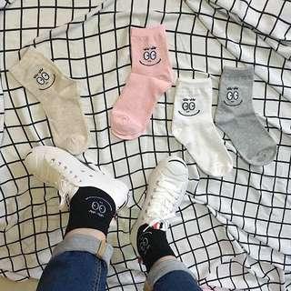 3雙290 五色 造型 長襪