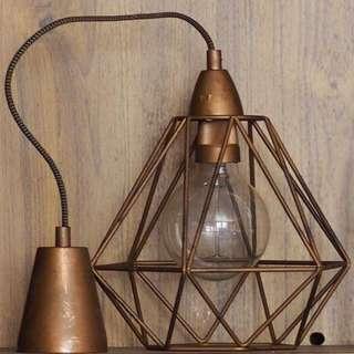 Timeless Hand Made Custom Copper Lights Set