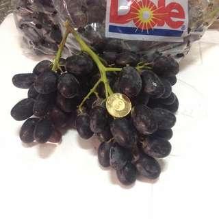 宅配南非無籽葡萄(4.5公斤)兩箱送到府