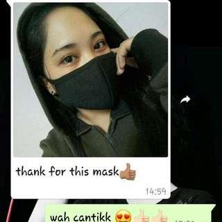 Free Postage Black Mask