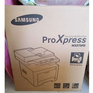 SAMSUNG Multifunction ProXpress M3375FD Printer/scanner