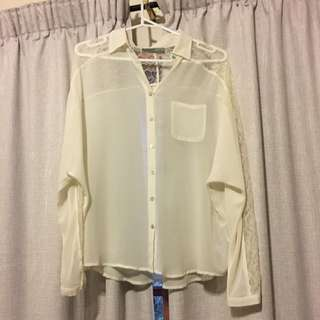 Just Jeans Shirt Size 10