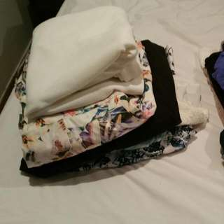 CLOTHES RANGING FROM SIZE 12-16 BULK