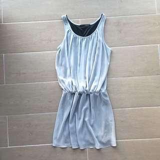 Grey semi- formal dress