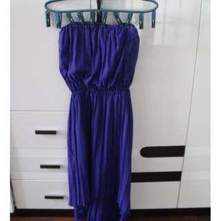 Blue Tube Dress from PRP