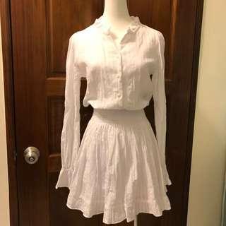 全新🎀韓貨白色氣質洋裝
