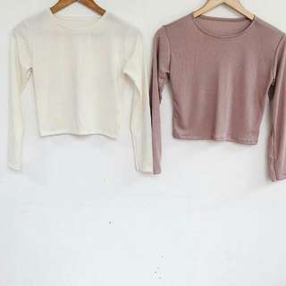 Crop Longsleeves