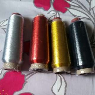 Metallic Embroidery sewing Thread (3000 M)