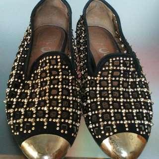 Jeffrey Campbell Studded Flat Shoes