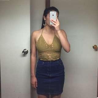 Crotchet Top & Skirt