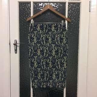 ASOS Lace Midi Skirt