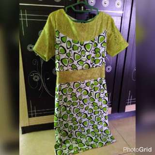 Brokat Katun Dress