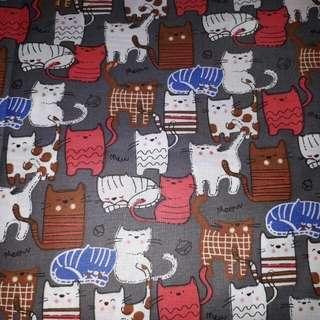 Kain motif kucing