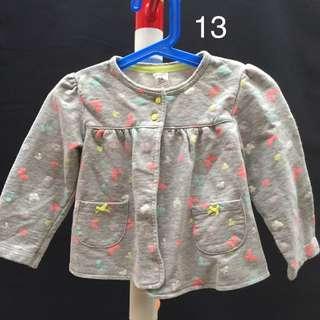 2歲-美國Caters 女孩蝴蝶外套