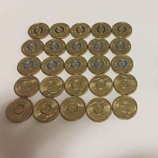 Olympic Coins (25coins$50)