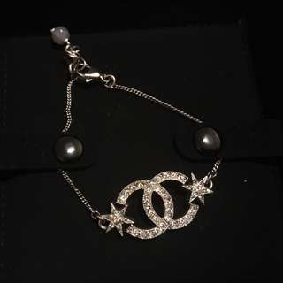 Authentic Chanel Bracelet And Earrings