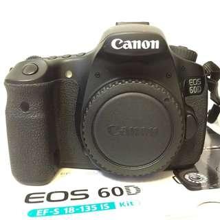 Canon 60D With Free Original Canon Bag