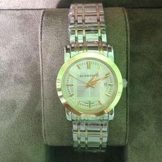 Burberry Classic BU1359 Two Tone Wrist Watch For Women